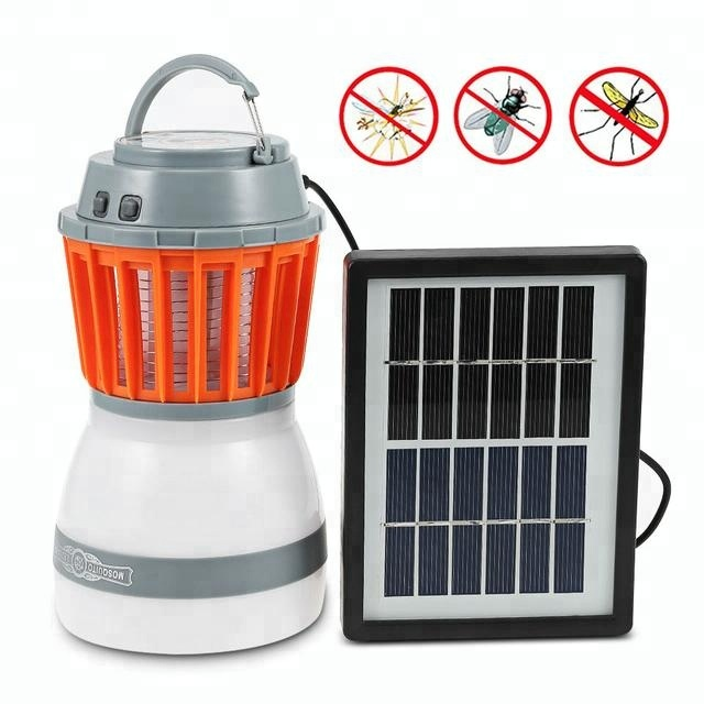 Solar Emergency light Solar Power Camping Light Waterproof Portable  Electric Mosquito Killer