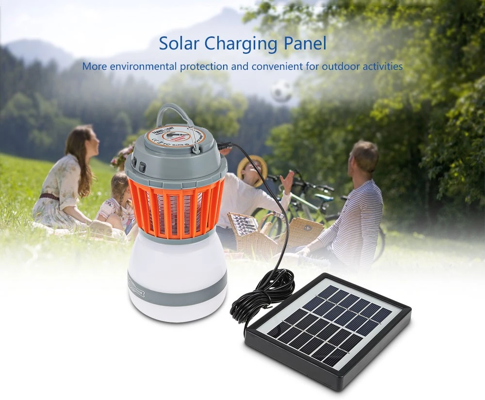 Solar Emergency Light Power Camping Waterproof Portable Mosquito Killer Circuit Images Electronic Home Led Lighting Electric